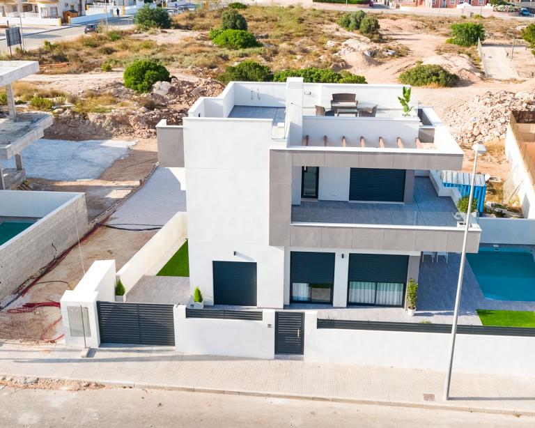New build villas in Los Montesinos - Alicante - Costa Blanca Nieuwbouw Costa Blanca