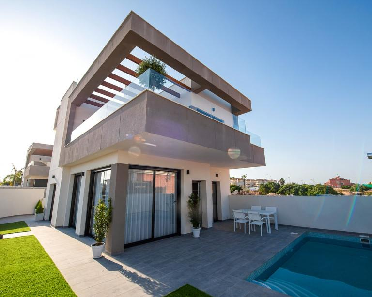 New build villas in Los Montesinos - Alicante - Costa Blanca in Nieuwbouw Costa Blanca