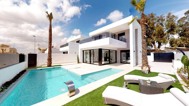 Stunning high quality villas TOP location in San Javier in Nieuwbouw Costa Blanca