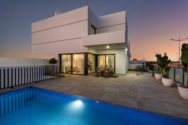 Stunning quality new build villas with private pool in Dolores Nieuwbouw Costa Blanca