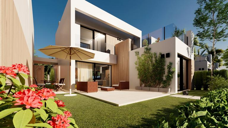 3 Bedroom Zen Villa on a luxurious resort Costa Cálida in Nieuwbouw Costa Blanca