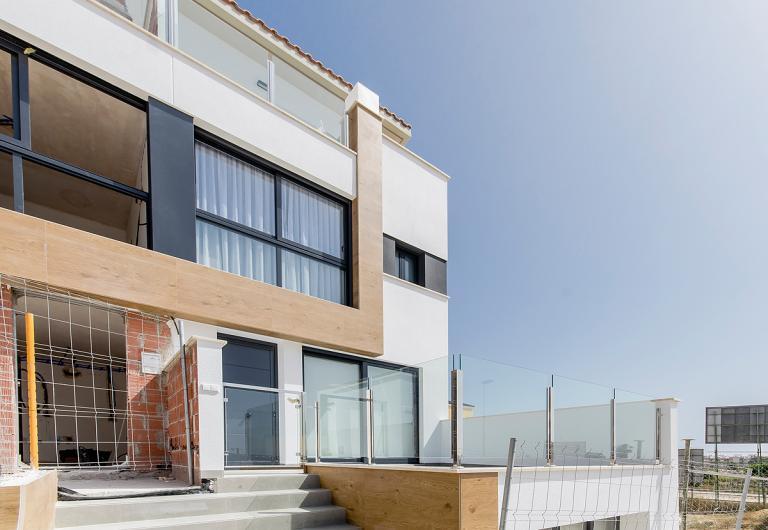 3 Bedroom townhouse in Guardamar del Segura Nieuwbouw Costa Blanca