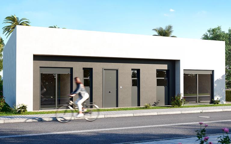 New villas 3 bedrooms 2 bathrooms GOLF - Murcia Nieuwbouw Costa Blanca