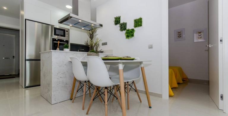 1 and 2 bedroom apartments city center Torrevieja NEW Nieuwbouw Costa Blanca