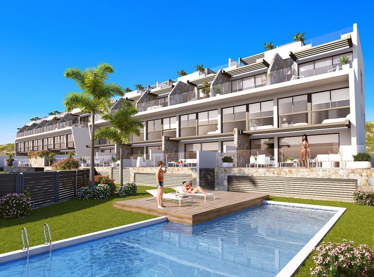 3 bedrooms 3 bathrooms duplex NEW Guardamar in Nieuwbouw Costa Blanca