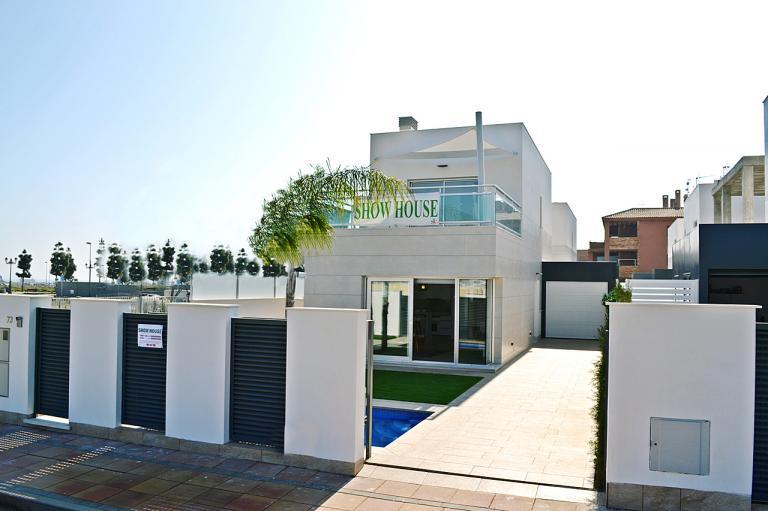 3/2 Modern new villas in Los Alcazares - Murcia in Nieuwbouw Costa Blanca