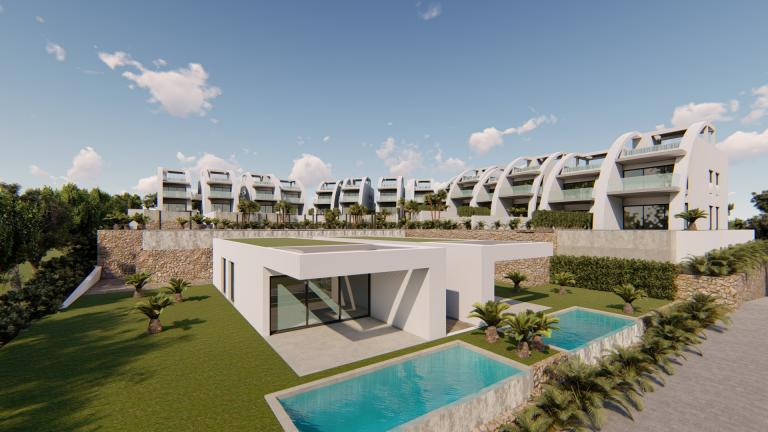 LUXURY NEW MODERN APARTMENTS IN ROJALES Nieuwbouw Costa Blanca