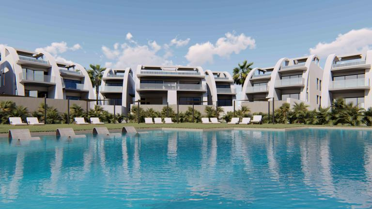 LUXURY NEW MODERN APARTMENTS IN ROJALES in Nieuwbouw Costa Blanca
