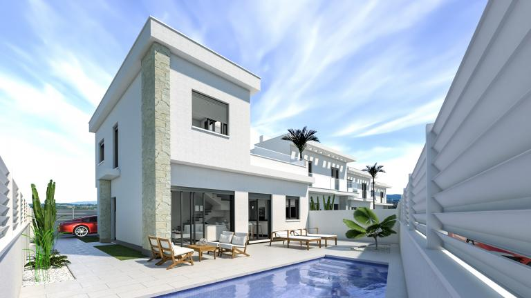 Great new villas good quality in los montesinos in Nieuwbouw Costa Blanca